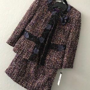 Tahari tweed set